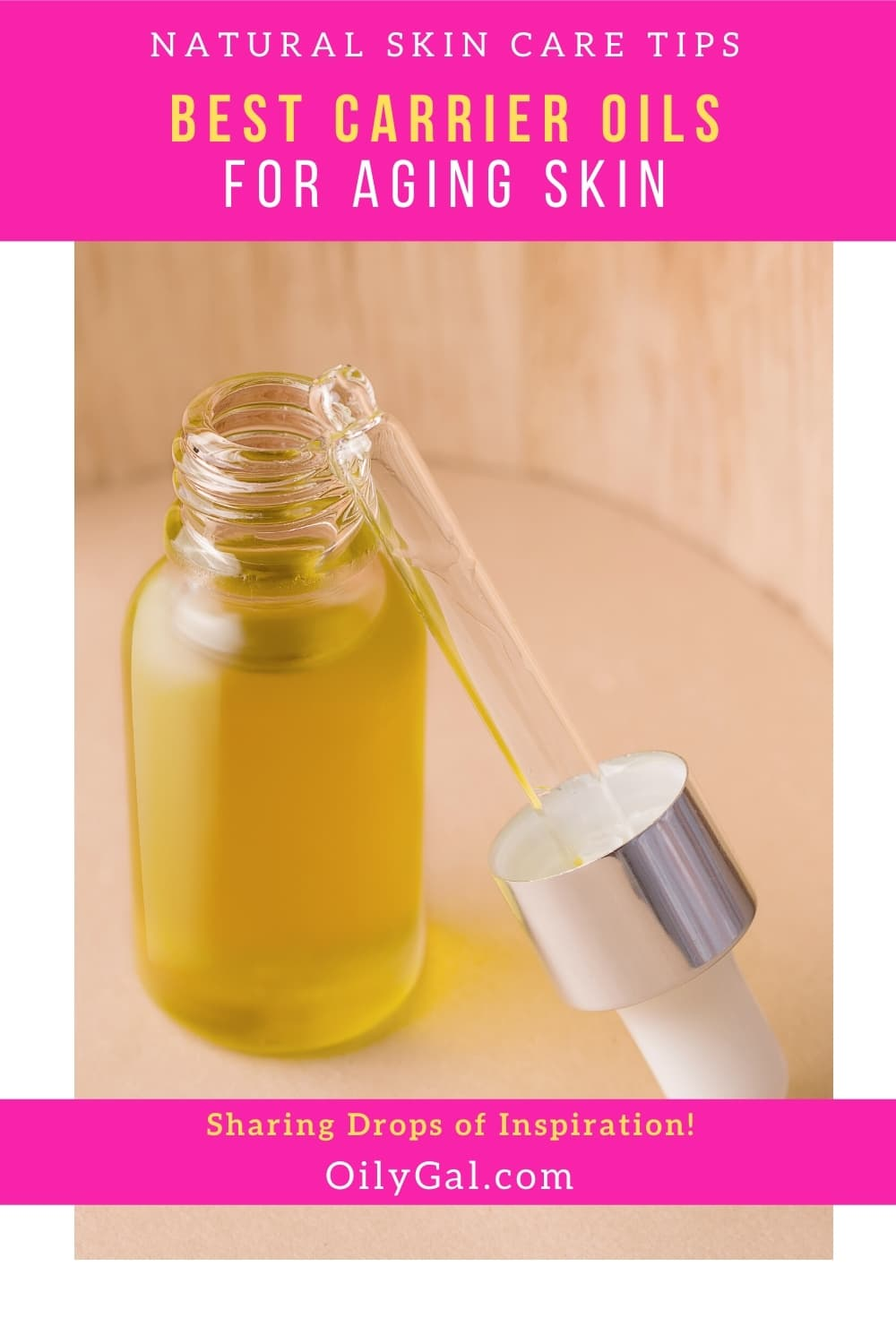 anti-aging carrier oils