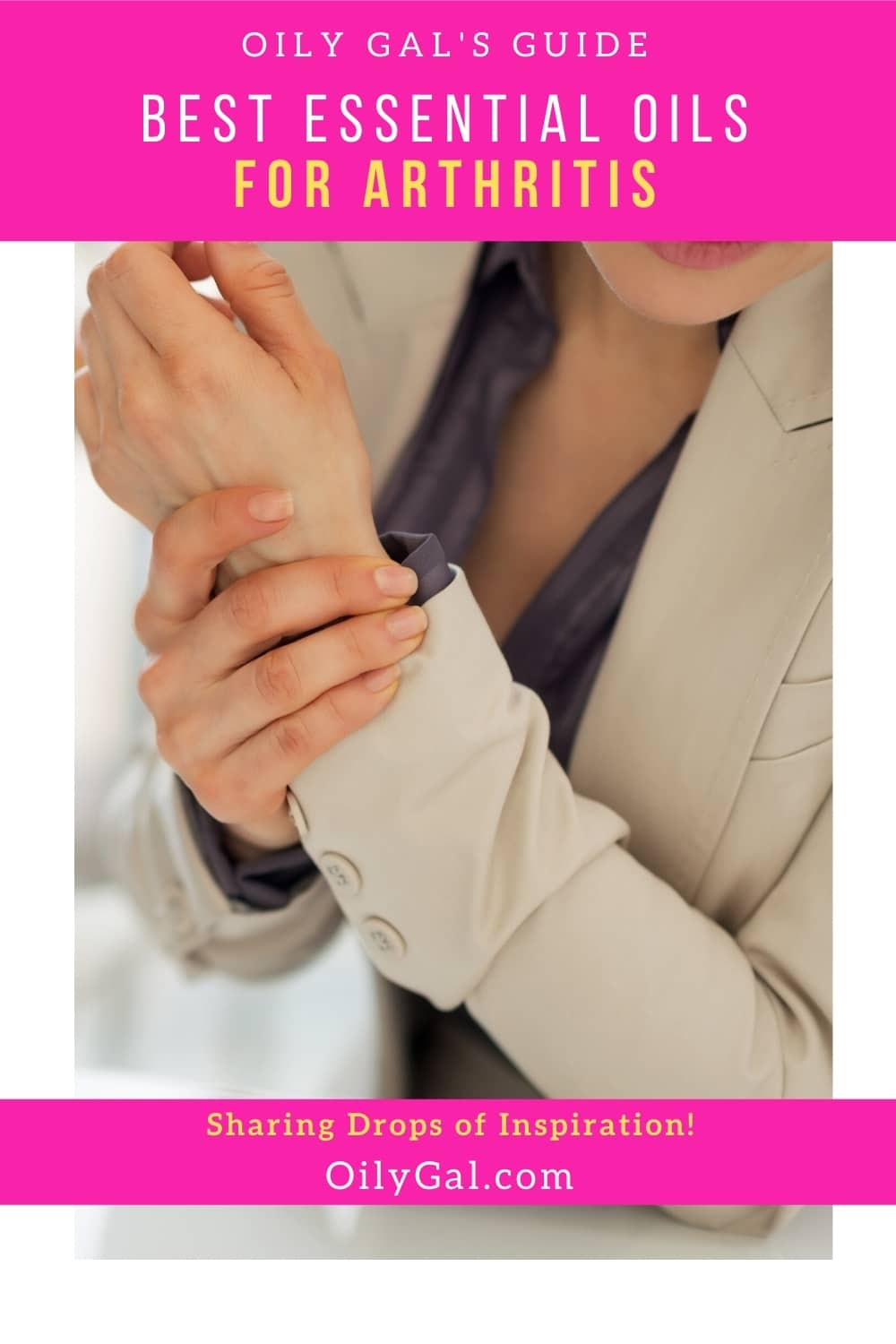 how to use essential oils for arthritic pain