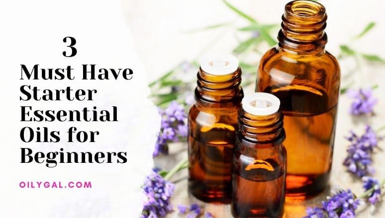 starter essential oils for beginners
