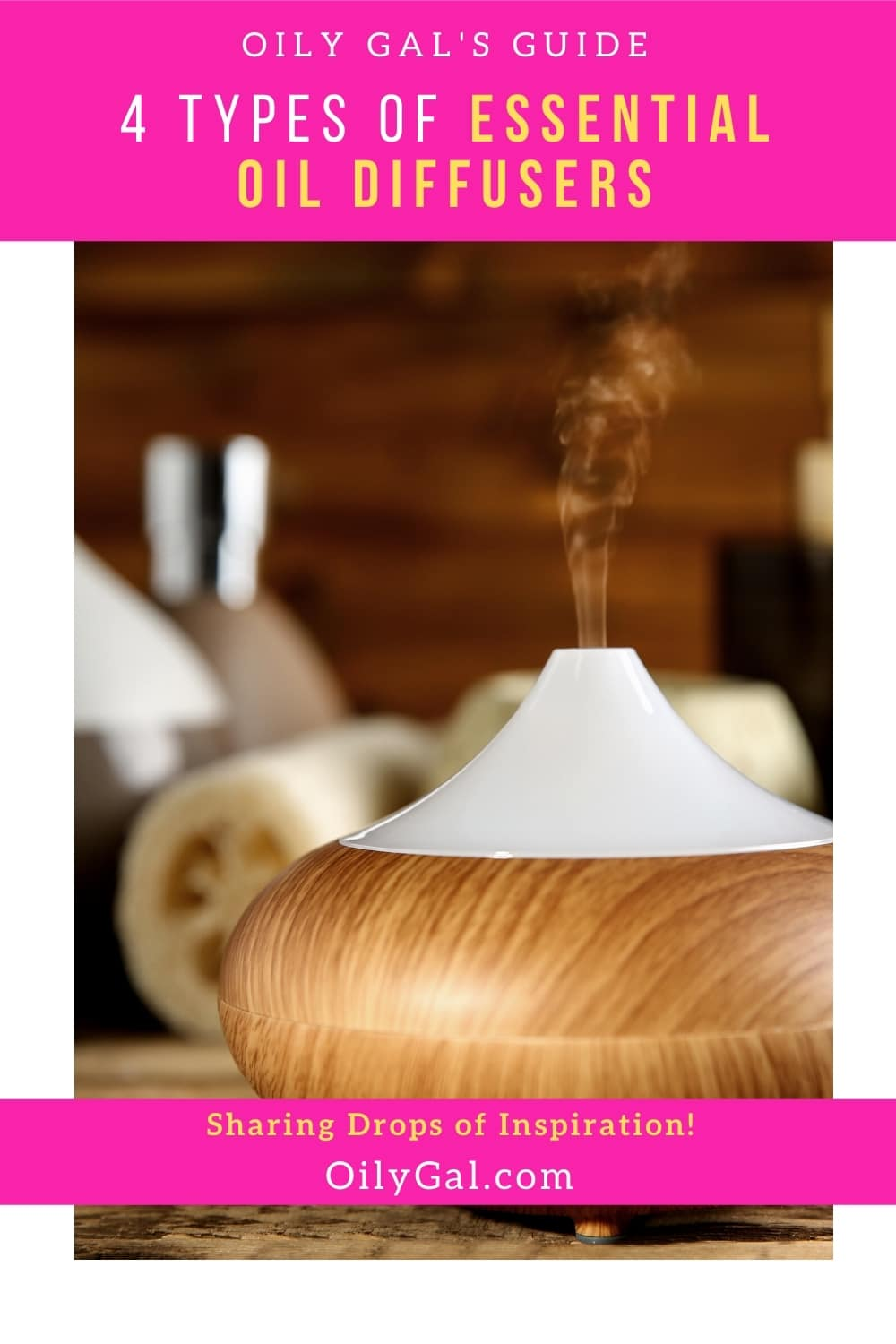 4 Types of Essential Oil Diffusers