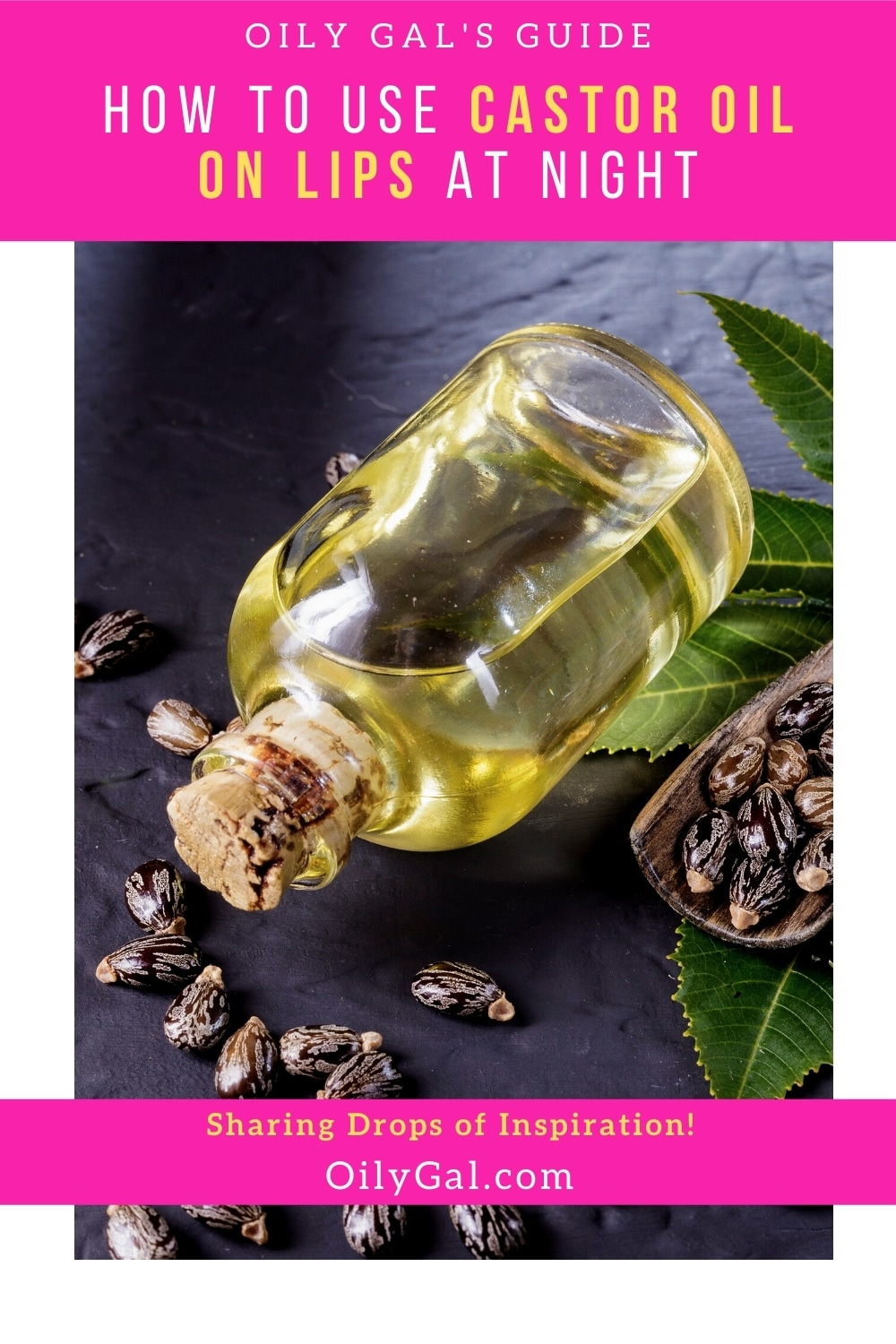 How to Use Castor Oil on Lips at Night