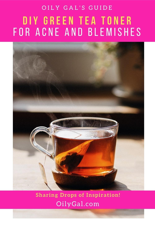acne green tea toner