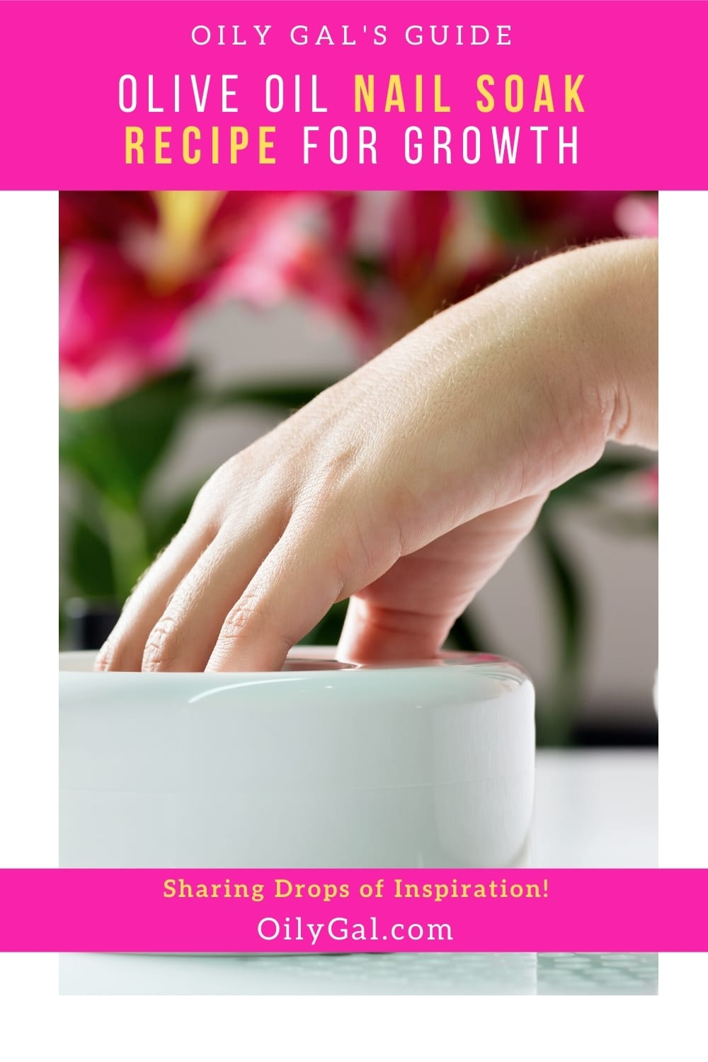 how to use olive oil for nail soak
